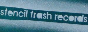 stencil trash